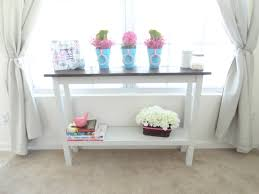 Thin Console Table Ana White Narrow Console Table Diy Projects