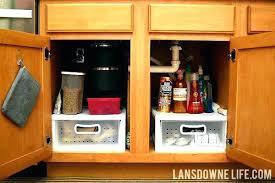 cabinet storage ideas under cabinet storage ideas sink kitchen organizer organizing the
