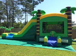 bounce house rental miami slide bounce houses combo units happy party rental miami