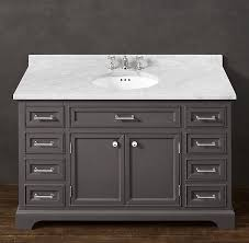 Kraftmaid Bathroom Vanity Restoration Hardware Bathroom Vanity Knockoff Home Design