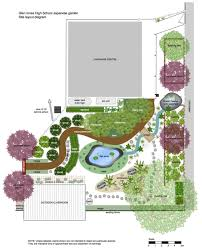 Japanese Garden Layout Japanese Garden Design Plans For Small Land Spacious Land Smart