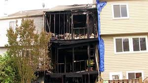suspicious fire destroys lorton townhouse under foreclosure nbc4