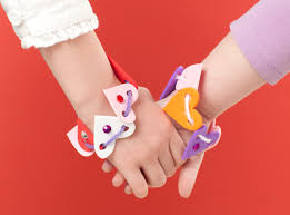 heart bracelet friendship images Heart shaped friendship bracelets make and takes png