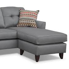 Value City Furniture Sofas by Chaise Lounge Marco Chaise Sofa Gray Value City Furniture Lounge