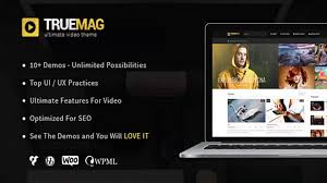 Love Themes Video | true mag wordpress theme for video and magazine website