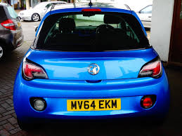 vauxhall lookers used 2014 vauxhall adam jam 3dr for sale in witney oxfordshire