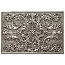 soci tile ssgp 1221 the renee plaque pewter kitchen backsplash