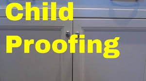 how to childproof kitchen cabinets easy method for babyproofing