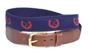 preppy ribbon belts men s canvas ribbon belts shop now by lillie designs lilliedesigns