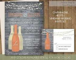 vineyard wedding invitations vineyard wedding invitations rustic wine country wedding set on