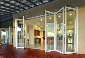 Accordion Doors Patio Accordion Patio Doors Price Accordion Glass Door Contemporary