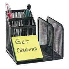 Office Depot Desk Organizer Office Depot Brand Metro Mesh Desk Organizer Black 1 Pk