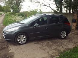 peugeot estate cars used peugeot 207 estate for sale motors co uk