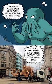 Cthulhu Meme - law is law mr cthulhu by nedesem meme center