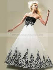 schwarz weiãÿ brautkleid chic brautkleider herz ausschnitt schwarz weiß für mollige a linie