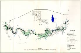 Austin Flood Plain Map by Numbered Report 182 Texas Water Development Board