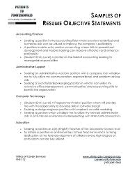 high student resume objective sles resume skills exles sales accounting objective best manager