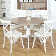 White And Wood Dining Chairs with White Painted Dining Table U2013 Zagons Co