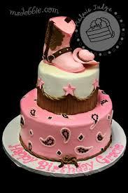 Cake Walk Pink U0026 Brown Cowgirl Cake Cakes Pinterest Cowgirl