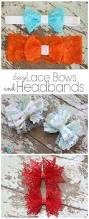 lace bows and headbands the ribbon retreat blog