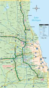 Chicago Illinois Map by Directions From The North To The Chicago Blaze