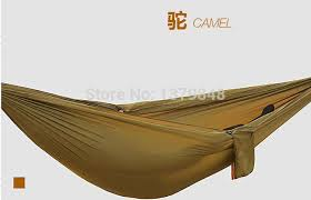double hammock camping survival hammock parachute cloth portable