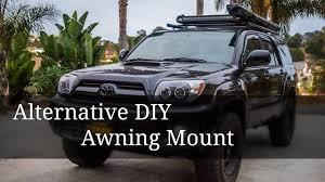 Diy Roof Rack Awning Dillan Vlog 1 Alternative Awning Mount Youtube