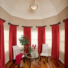 kuhns and heller custom window treatments blinds shades red window