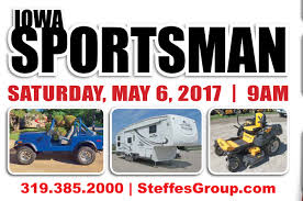 iowa sportsman auction event steffes group inc