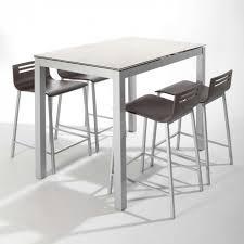 table cuisine petit espace table snack de cuisine petit espace en céramique avec allonge avec