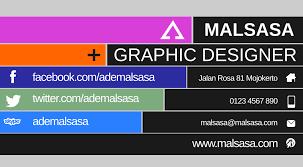 template kartu nama makanan desain kartu nama tutorial desain inkscape
