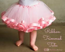 for ballerinas diy tutu skirts