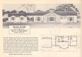53 1950 ranch home floor plans for 1950s ranch house plans 1950s