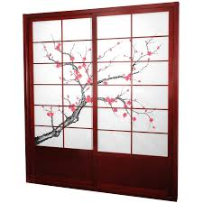 Sliding Closet Door Kit 7 Ft Cherry Blossom Shoji Sliding Door Kit House Related