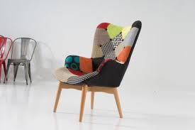 patchwork chair ottoman jape furnishing superstore