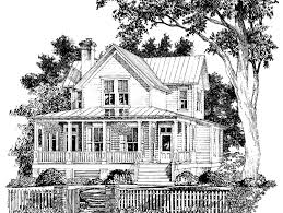 southern living house plans with porches eplans farmhouse house plan aiken ridge from the southern living