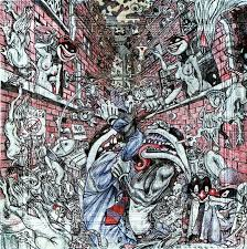 Frankenstein Shower Curtain by Conflict Resolution Drawing By Casanova Frankenstein