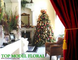 decorated christmas trees unique floral arrangements by rose fisher