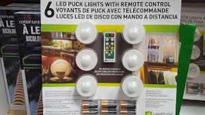 led garage lights costco capstone led puck lights 6 pack costco weekender