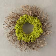 reindeer moss twig wreath terrain