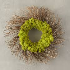 twig wreath reindeer moss twig wreath terrain