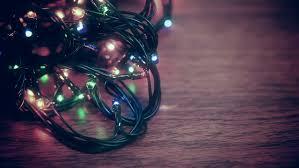 tangled christmas light bulbs macro stock footage video 13330511