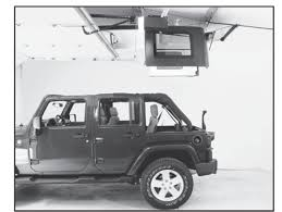 jeep open how to install a harken hoister garage storage 4 point lift system