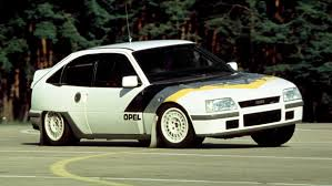 vintage opel car trojan horse 1986 opel kadett gsi rallye 4x4 group b prototype