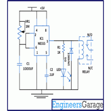circuit diagram for automatic bathroom light off timer