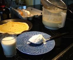 mesure cuisine sans balance pâte à crêpes sans balance recette de pâte à crêpes sans balance