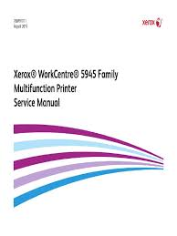 wc5945f service manual xerox electrostatic discharge