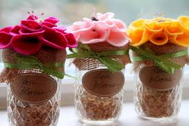 jar wedding jar wildflower wedding favors hgtv