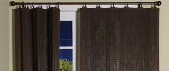 shop patio curtains u0026 blinds curtain u0026 bath outlet
