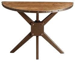 half circle accent table half circle console table fabulous half circle accent table slim